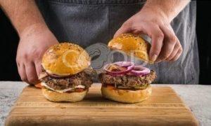 Бургер с говядиной рецепт шаг 11