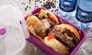 Бургер с говядиной рецепт шаг 12