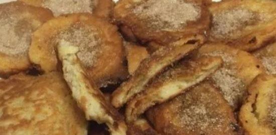 Два варианта десерта «Яблоки в тесте» кулинарный рецепт