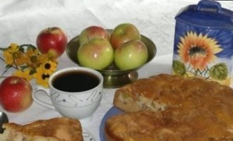 Яблочный пирог кулинарный рецепт
