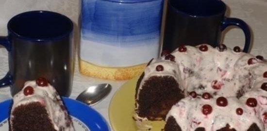 Кекс «Вечерняя заря» кулинарный рецепт