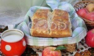 Хлеб с яблоками рецепт шаг 6
