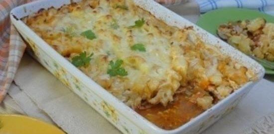 Курица «Пармантье» кулинарный рецепт