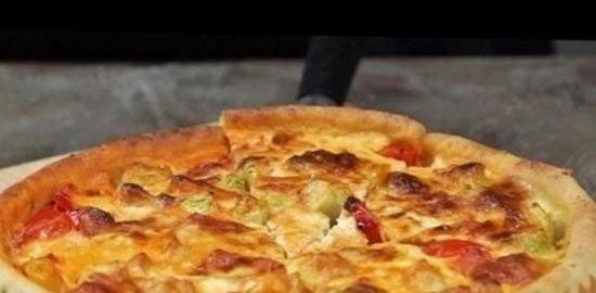 Летний пирог с овощами кулинарный рецепт