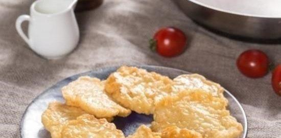 Оладьи из макруруса кулинарный рецепт
