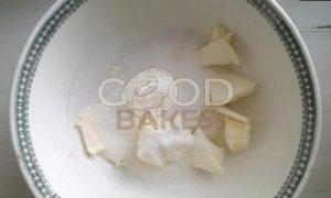 Песочный пирог со сметанной заливкой рецепт шаг 1