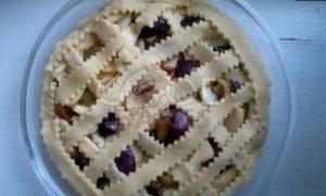 Песочный пирог со сметанной заливкой рецепт шаг 12