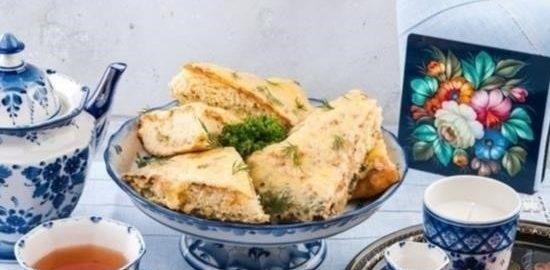Пирог с грибами и картофелем кулинарный рецепт