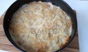Самый ленивый яблочный пирог рецепт шаг 9