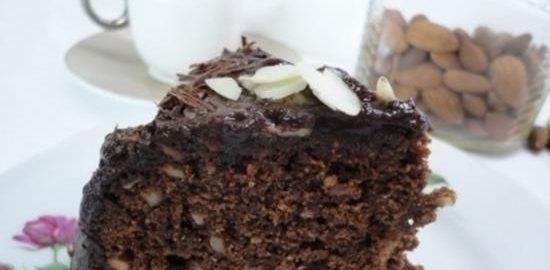 Шоколадно-миндальный кекс кулинарный рецепт