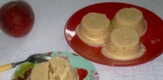 Сливочное мороженое с персиками кулинарный рецепт