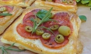 Средиземноморские тарталетки кулинарный рецепт