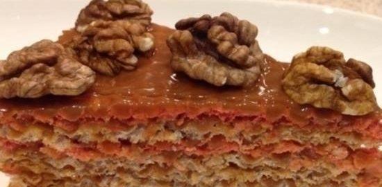 Вафельный торт «Вкус детства» кулинарный рецепт
