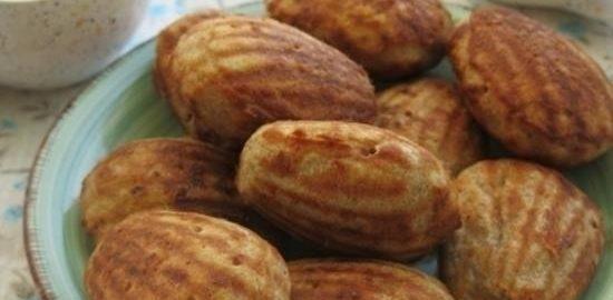Закусочное печенье «Мадлен» кулинарный рецепт
