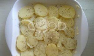Запеканка из картофеля и баклажанов рецепт шаг 4