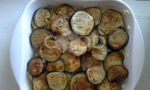 Запеканка из картофеля и баклажанов рецепт шаг 8