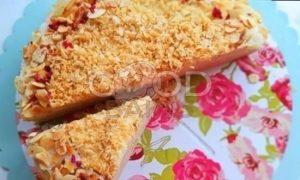 Блинный торт с кремом «Пломбир» рецепт шаг 20