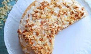 Блинный торт с кремом «Пломбир» рецепт шаг 21
