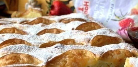 Бубланина с творогом и яблоками кулинарный рецепт