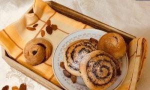 Булочки с маком кулинарный рецепт