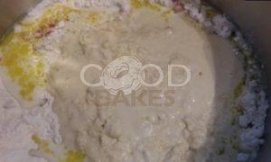 Булочки с сыром и чоризо рецепт шаг 4
