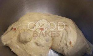 Булочки с сыром и чоризо рецепт шаг 5