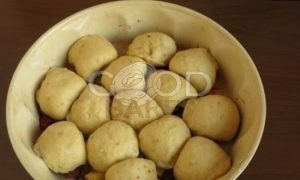 Булочки с заварным кремом на малиново-яблочной подушке рецепт шаг 17