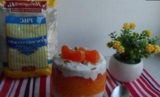 Десерт «Солнечное утро» кулинарный рецепт