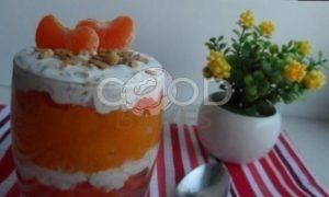 Десерт «Солнечное утро» рецепт шаг 7