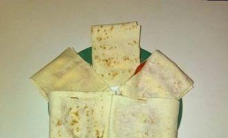 Горячие бутерброды с плавленым сыром в лаваше кулинарный рецепт