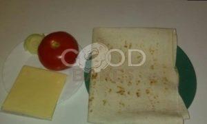Горячие бутерброды с плавленым сыром в лаваше рецепт шаг 1