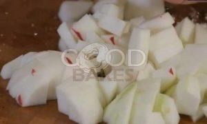Яблочный пирог со сливочным кремом рецепт шаг 6