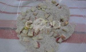 Кексы из овсяных отрубей с яблоками рецепт шаг 1