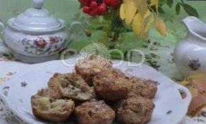 Кексы из овсяных отрубей с яблоками рецепт шаг 4