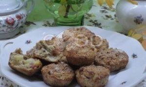 Кексы из овсяных отрубей с яблоками рецепт шаг 5