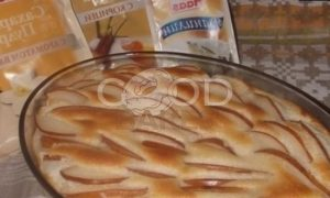 Клафути с грушами рецепт шаг 7