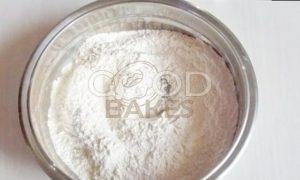Кокосовый кекс с карамельными яблоками рецепт шаг 2
