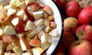 Маковый пирог с яблоками рецепт шаг 12