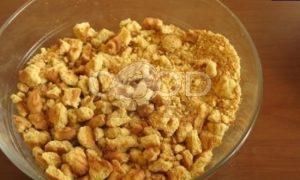 Мятный пирог с персиком After Eight рецепт шаг 1