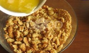 Мятный пирог с персиком After Eight рецепт шаг 2