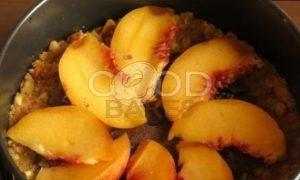 Мятный пирог с персиком After Eight рецепт шаг 5