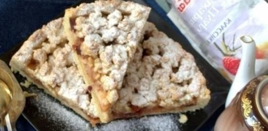 Немецкий яблочный пирог кулинарный рецепт