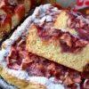 Открытый яблочный пирог кулинарный рецепт