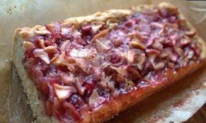 Открытый яблочный пирог рецепт шаг 18