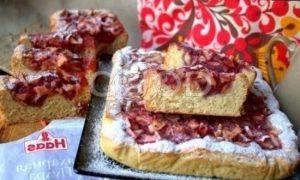 Открытый яблочный пирог рецепт шаг 22