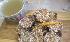 Овсяное печенье с медом без сахара кулинарный рецепт