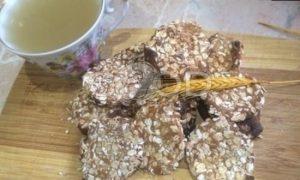 Овсяное печенье с медом без сахара рецепт шаг 6