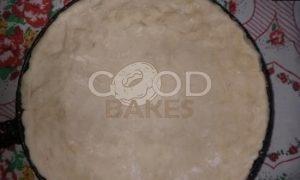 Пирог из творожного теста с тыквенным суфле и яблоками рецепт шаг 7