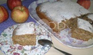 Пирог с яблоками, кокосом и шоколадом рецепт шаг 13