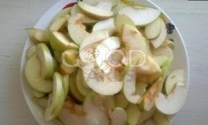 Пирог с яблоками, кокосом и шоколадом рецепт шаг 6
